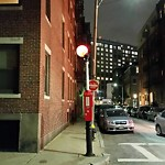 Street Lights at Intersection Of Thacher St & N Margin St