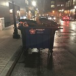 Residential Trash out Illegally at 70 Sleeper St