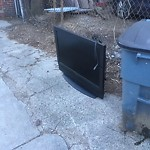 Residential Trash out Illegally at 569 E Sixth St, 1, South Boston