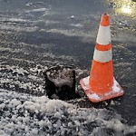 Pothole at Intersection Of Lewis St & Marginal St, East Boston