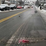 Pothole at Intersection Of Providence St & West St, Hyde Park