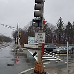 Traffic Signal Repair at Intersection Of Morton St & Harvard St, Dorchester