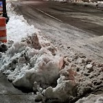 Sidewalk Not Shoveled at Intersection Of W Broadway & Dorchester Ave, South Boston