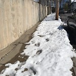 Sidewalk Not Shoveled at 18 20 Ranelegh Rd, Brighton