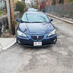 Illegal Parking at Intersection Of Burton Ave & Copeland St, Roxbury