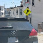 Illegal Parking at 51 Breed St, East Boston