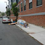 Residential Trash out Illegally at 30 Polk St, Charlestown