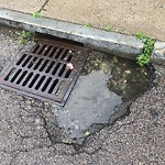 Pothole at Intersection Of Alleghany St & Calumet St, Mission Hill