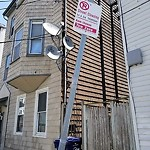 Damaged Sign at 35 Lamson St, 1, East Boston