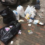 Litter at 2 A Milford St