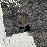 Pothole at Intersection Of D St & W Third St, South Boston