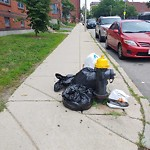 Residential Trash out Illegally at 7 Eileen Cir