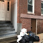 Residential Trash out Illegally at 16 Stillman St