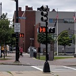 Traffic Signal at Intersection Of W Dedham St & Monsignor Reynolds Way, Roxbury