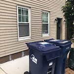 Residential Trash out Illegally at 209 K St, South Boston