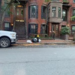 Residential Trash out Illegally at 210 W Canton St