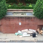 Residential Trash out Illegally at 150 Huntington Ave, Ste 1