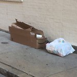 Residential Trash out Illegally at 38 44 Clark St