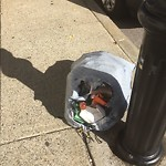 Residential Trash out Illegally at 334 340 North St