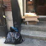Residential Trash out Illegally at 44a 44 Fleet St