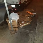 Residential Trash out Illegally at 35 37 Kingston St