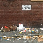 Residential Trash out Illegally at 31 Hereford St