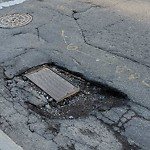 Pothole at Intersection Of Deaconess Rd & Jimmy Fund Way