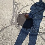 Pothole at 32 Neptune Cir, East Boston