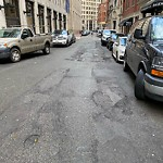 Pothole at Intersection Of Batterymarch St & Custom House St
