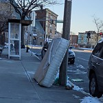 Residential Trash out Illegally at 312 Warren St, Roxbury