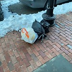 Residential Trash out Illegally at 20 Worcester Sq, Roxbury