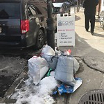 Residential Trash out Illegally at 280 North St, Apt 1