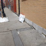 Residential Trash out Illegally at 190 190a Salem St