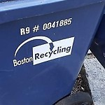 Recycling Cart at 28 Dorset St, 1, Dorchester