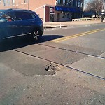 Pothole at Intersection Of Holmes Pl & Main St, Charlestown