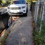 Illegal Parking at 53 Linden St, Dorchester