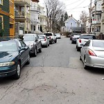 Illegal Parking at Intersection Of Tilman St & Dorchester Ave, Dorchester