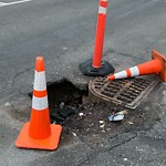 Pothole at Intersection Of Fairfield St & Back St