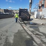 Pothole at Intersection Of Lynde St & New Rutherford Ave, Charlestown