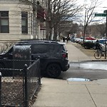 Illegal Parking at 1246 Commonwealth Ave, Allston