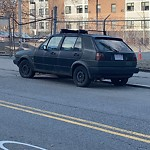 Abandoned Vehicle at Intersection Of Robinson St & Adams St, Dorchester