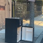 Residential Trash out Illegally at 84 Mount Pleasant Ave, Roxbury
