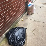 Residential Trash out Illegally at 28 Clark St, 1