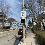 Traffic Signal at Intersection Of Humes Rd & Ashmont St, Dorchester