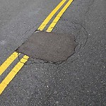 Pothole at 584 Bennington St, East Boston