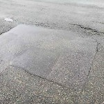 Pothole at Intersection Of Byron St & Saratoga St, East Boston