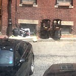 Residential Trash out Illegally at 25 Ridgeway Ln