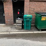 Residential Trash out Illegally at 139 Newbury St