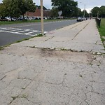 Broken Sidewalk at Intersection Of Carmody Ct & Columbia Rd, South Boston