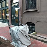 Residential Trash out Illegally at 35 W Newton St, Roxbury